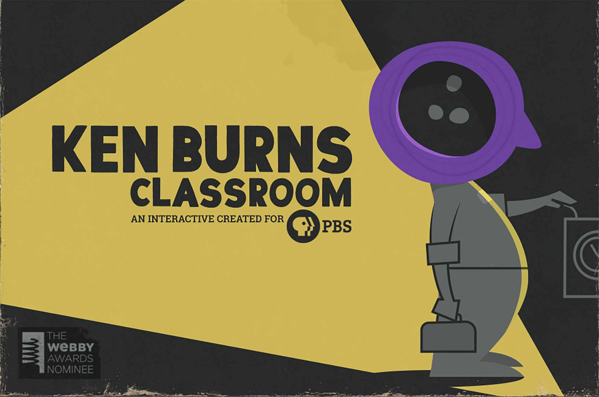 Ken Burns Classroom is an interactive created for PBS.