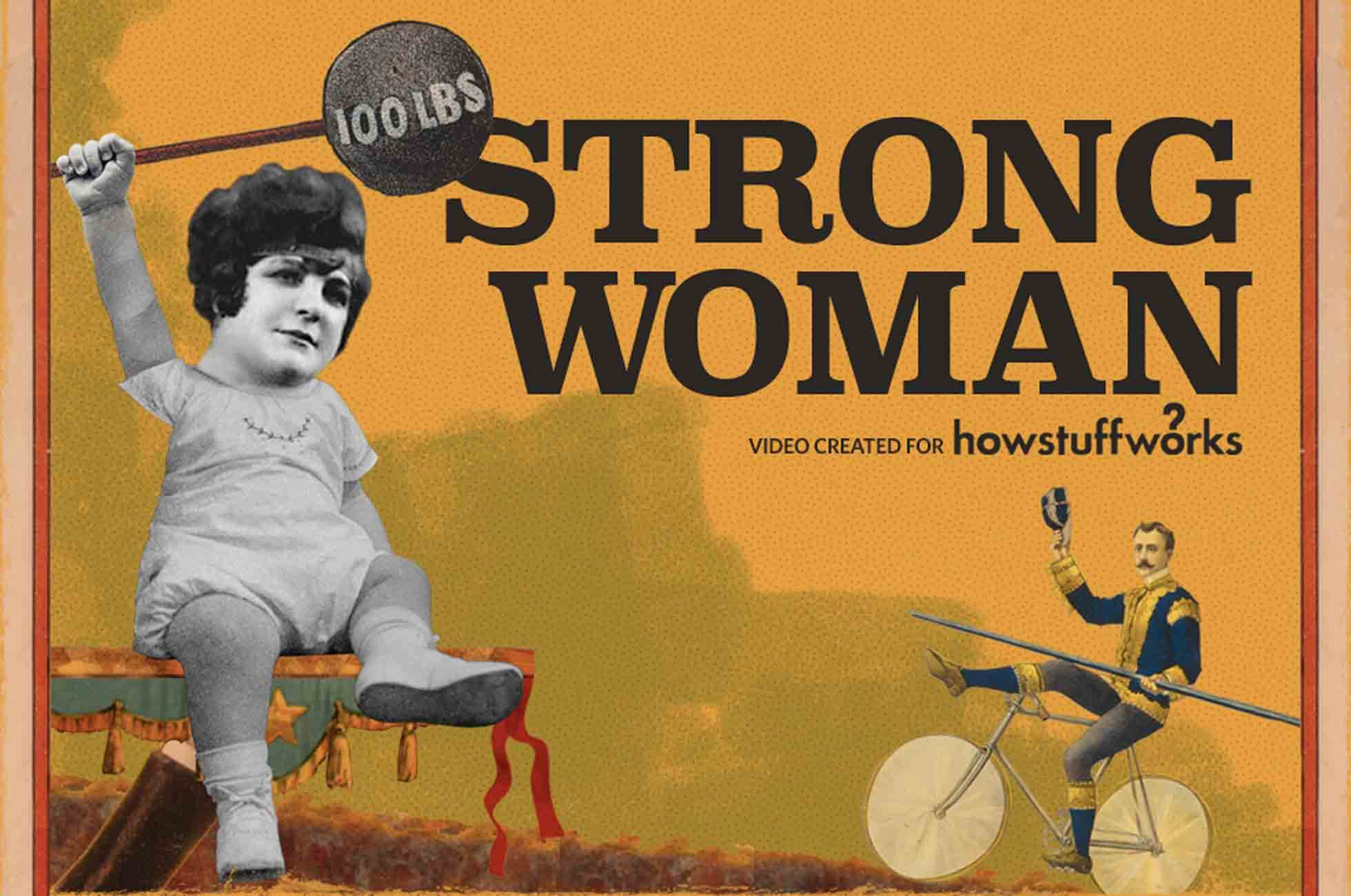 Sandwina, Strong Woman is an animation created for the How Stuff Works.